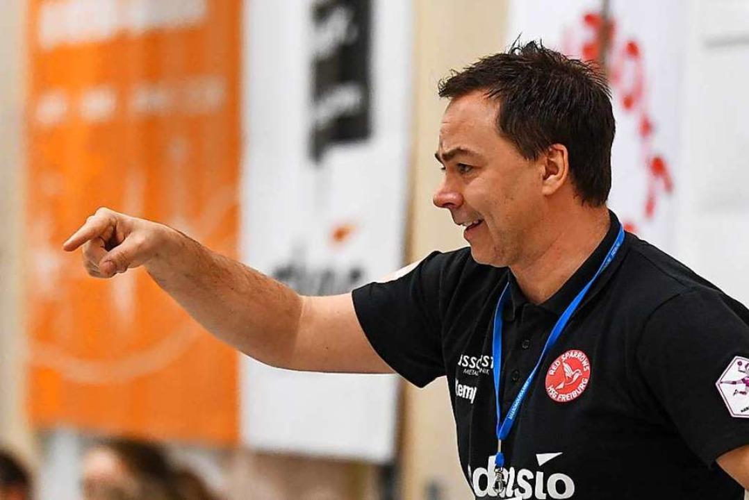 Stets engagiert und ein Handball-Fachmann durch und durch: Ralf Wiggenhauser  | Foto: Patrick Seeger