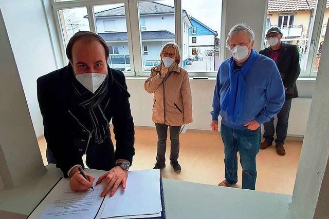 Erste Bewohner ziehen im März in Schallstadt in die