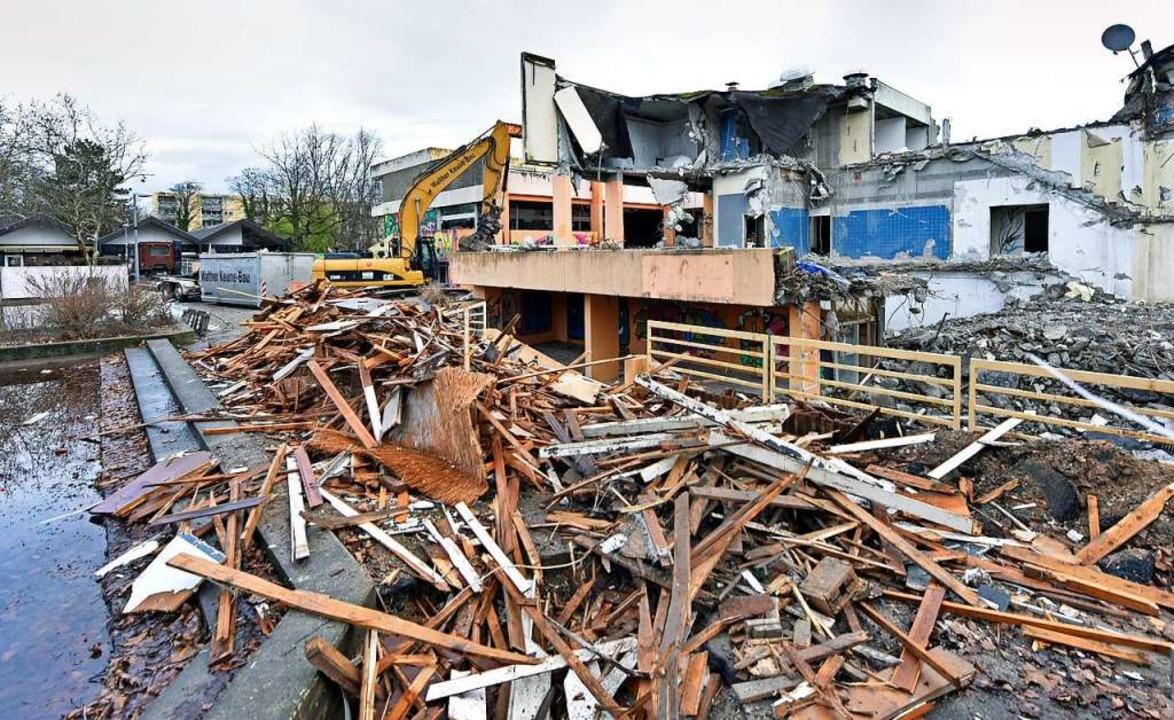 Zum Teil gibt es ganz neue Einsichten in die bisherige Gebäudestruktur.    Foto: Michael Bamberger