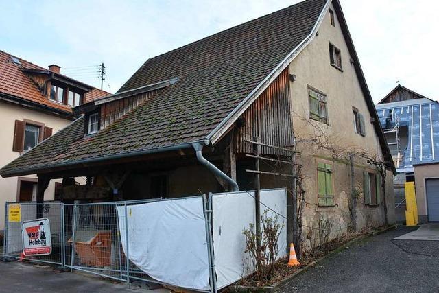 Der Streit um die alte Trotte in Haltingen schwelt weiter