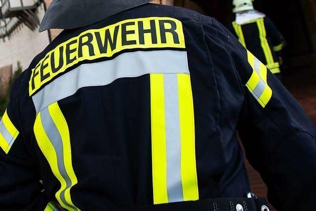 Küchenbrand in einem Mehrfamilienhaus in Neuenburg