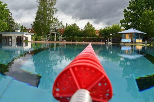 Das Dreisambad in Kirchzarten soll diesen Sommer öffnen