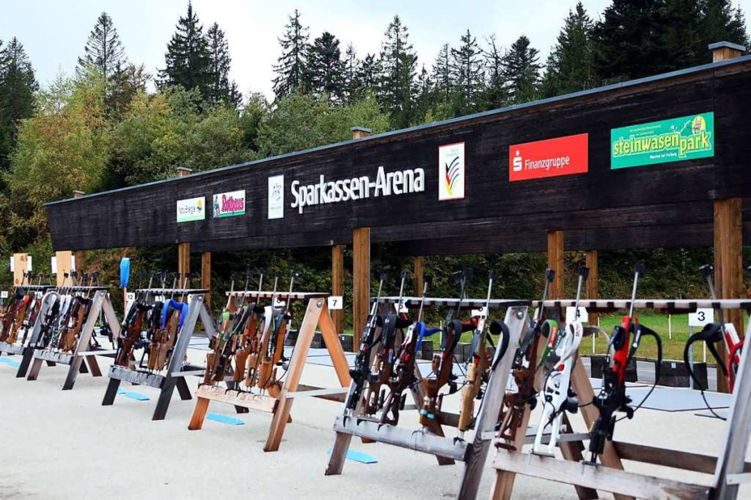 Der Biathlon-Schießstand am Nordic Center wird auf 30 Schießbahnen erweitert.  | Foto: Joachim Hahne