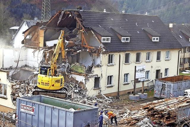 Abbruch für Neubau in der Liebeck