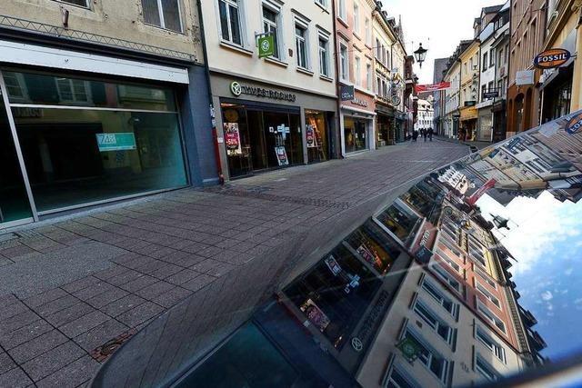 Freiburgs City-Händler fordern einen Krisenstab