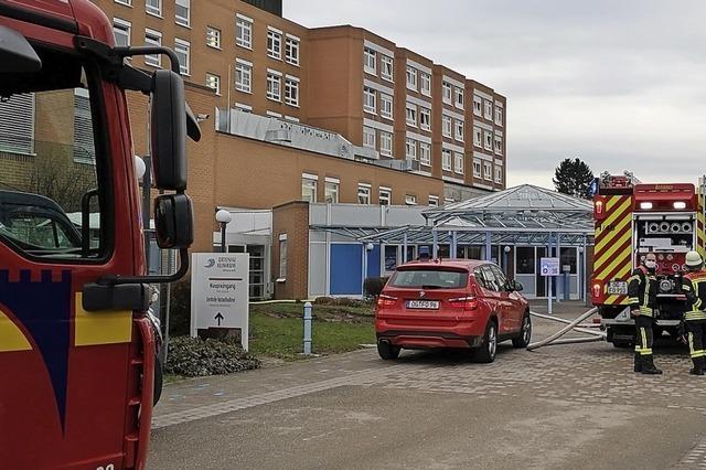 Brandalarm im Klinikum