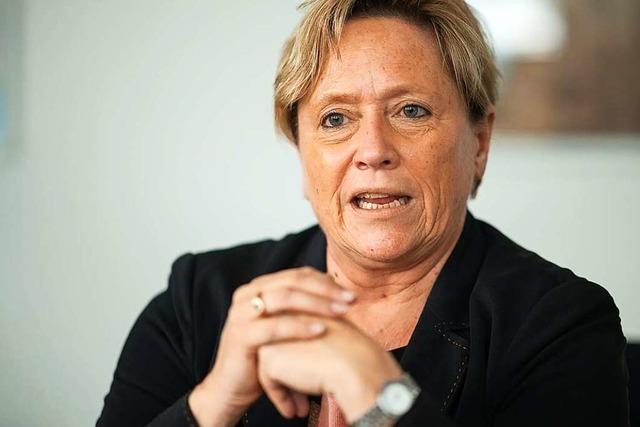 CDU-Spitzenkandidatin Eisenmann: