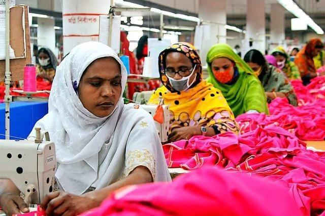 Beim Streit ums Lieferkettengesetz scheinen die Arbeiter mitunter egal zu sein