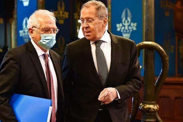 Affront gegen die EU: Moskau weist wegen Nawalny Diplomaten aus
