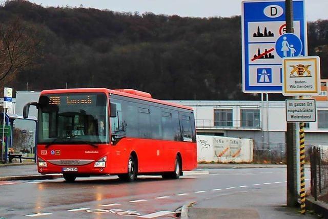 Grenzach-Wyhlen hätte gerne eine bessere Busverbindung nach Lörrach
