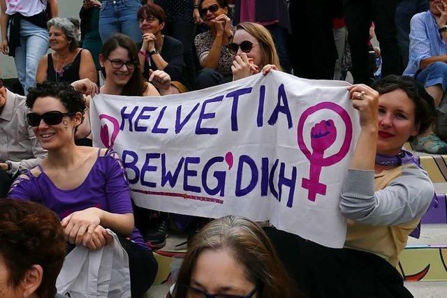 In Basel durften die Frauen