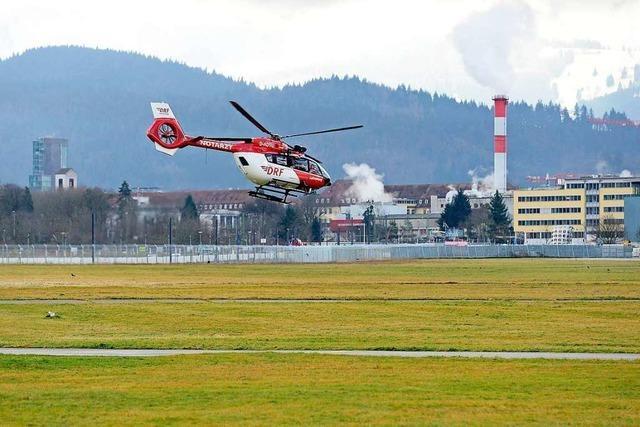Der Vorstoß gegen den Freiburger Flugplatz ist versandet