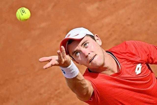 Tennis und Quarantäne: Dominik Koepfer bei den Australian Open