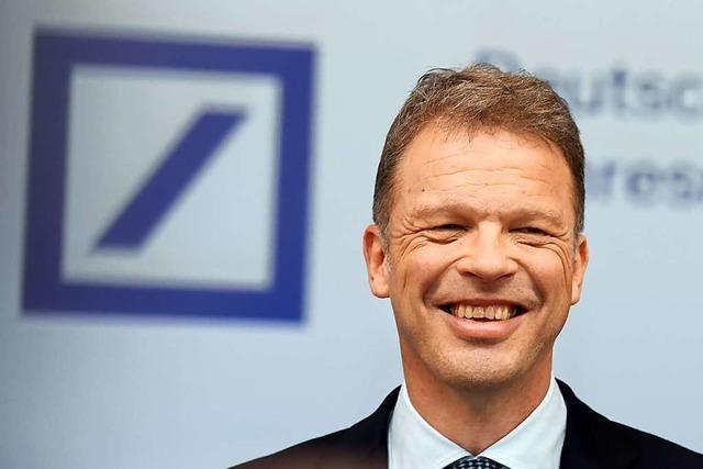 Christian Sewing ist der richtige Mann für die Deutsche Bank
