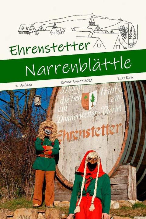 In Ehrenstetten gibt es dieses Jahr ein Narrenblättle.  | Foto: Ölberggeister Ehrenstetten