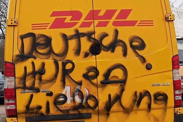 Mehrere Autos in Ettenheim wurden mit Farbe beschmiert