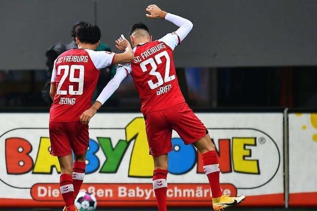 Wooyeong Jeong sticht gegen Dortmund durch Technik und Tempo heraus