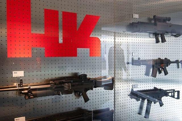 Waffen-Export: Heckler & Koch scheitert mit Rüge vor Gericht