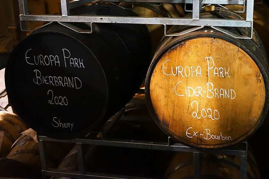 Aus 9000 Litern Bier werden 600 Liter ...s, das für den Vanilleton sorgen wird.  | Foto: Europa-Park