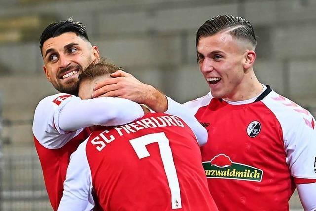 Mit Extra-Metern erkämpft sich der SC Freiburg einen ganz besonderen Sieg