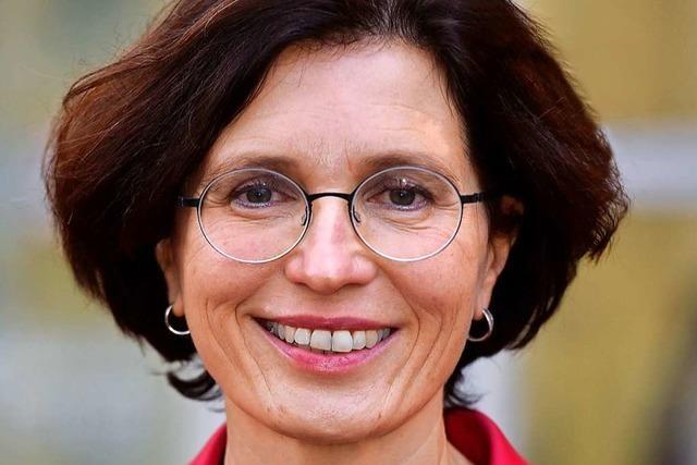 Die neue Umweltbürgermeisterin Christine Buchheit will