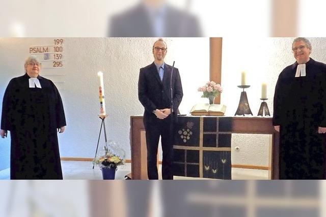 Martin Rathgeber ist der neue Pfarrer