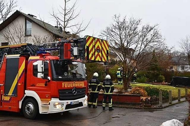 Brennende Matratze löst Feuerwehreinsatz aus