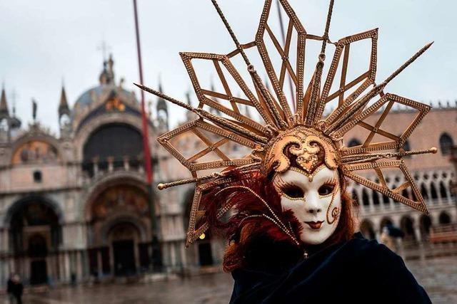 Nicht alle Menschen in Venedig vermissen den Karneval