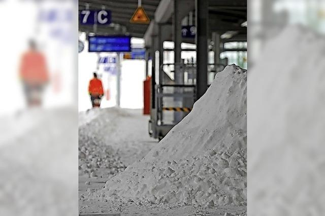 Schneesturm fegt über Deutschland