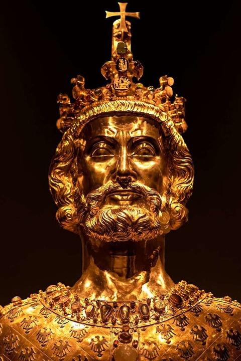 Faszinierend: die Büste Karls des Großen im Aachener Domschatz  | Foto: Thomas Wolter (pixabay.com)