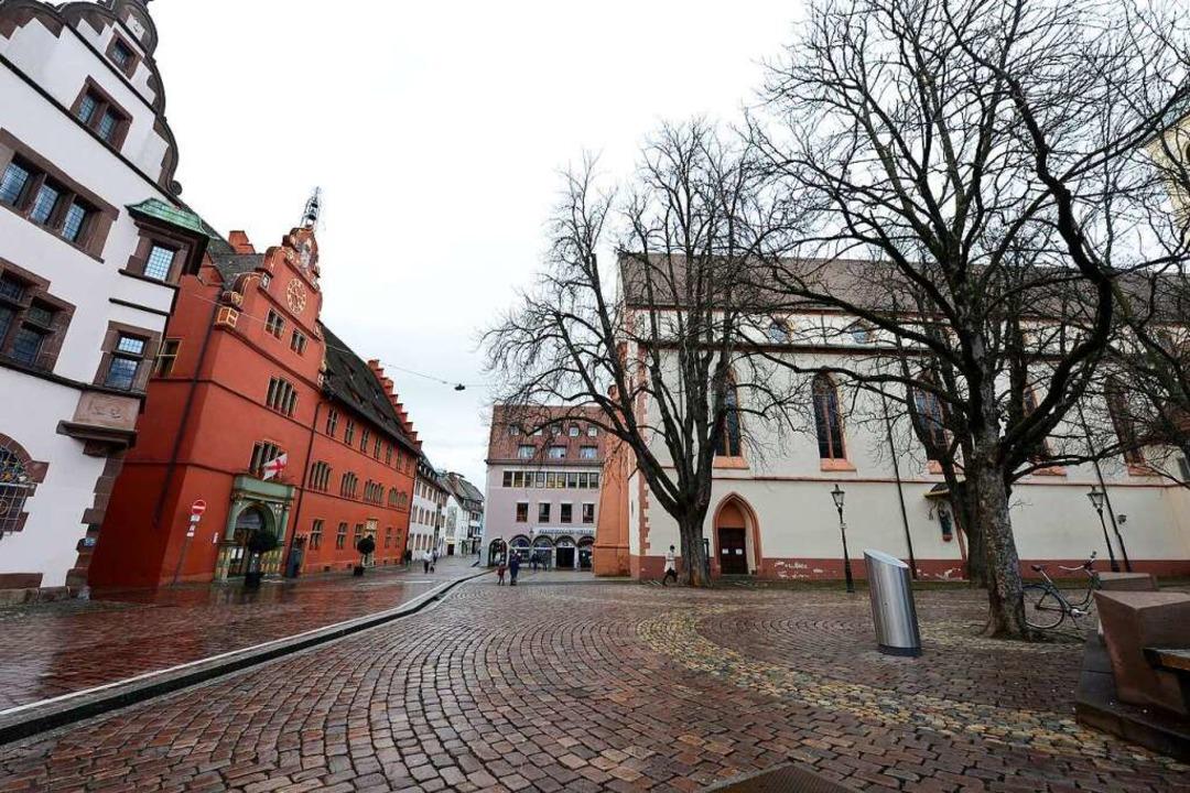 In diesem Jahr wird der Platz auch übe...rmutlich nicht sehr närrisch aussehen.  | Foto: Ingo Schneider