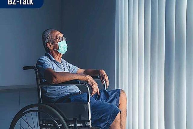 BZ-Talk: Wie die Corona-Pandemie alte Menschen trifft
