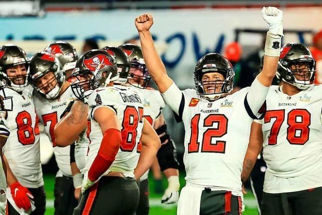 Buccaneers bezwingen Chiefs: Siebter Super-Bowl-Sieg für Tom Brady