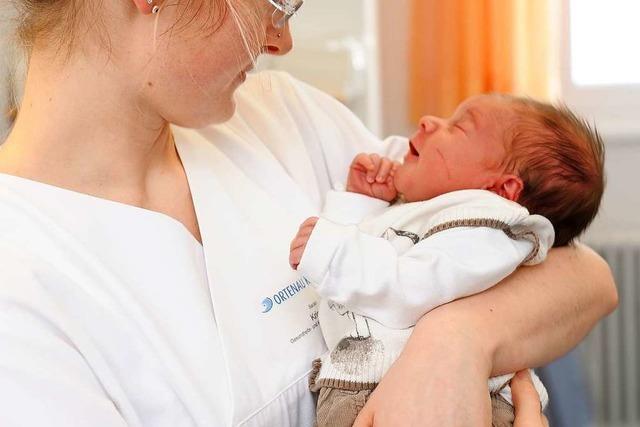 Mehr als 3900 Babys wurden im Corona-Jahr in den Ortenau-Kliniken geboren