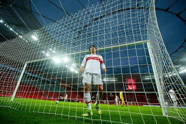 Frust beim VfB Stuttgart nach der Pleite in Leverkusen