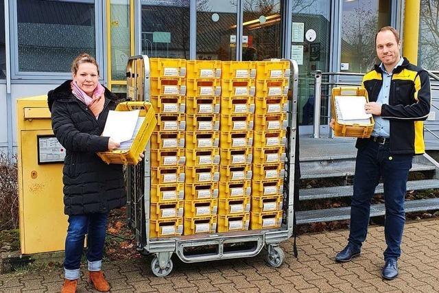 Briefzentrum Offenburg rüstet sich für mehr Briefwähler im Corona-Jahr