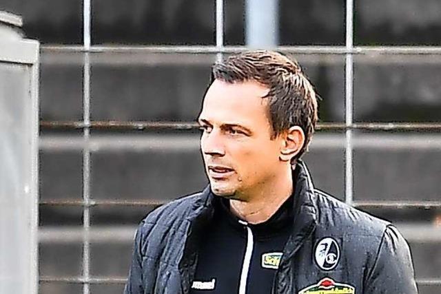 Trainer Christian Preußer verlässt zum Sommer die U 23 des SC Freiburg