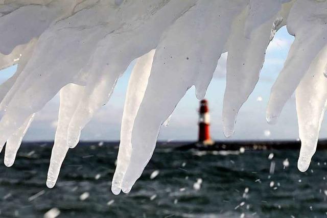 Fotos: Schnee und Kälte erreichen den Norden und die Mitte Deutschlands