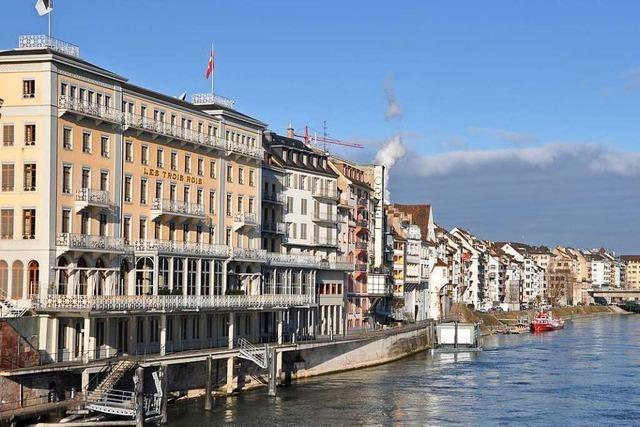 Übernachtungszahlen brechen in Basel dramatisch ein