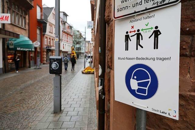 Stadt Lahr will generelle Maskenpflicht in der Fußgängerzone