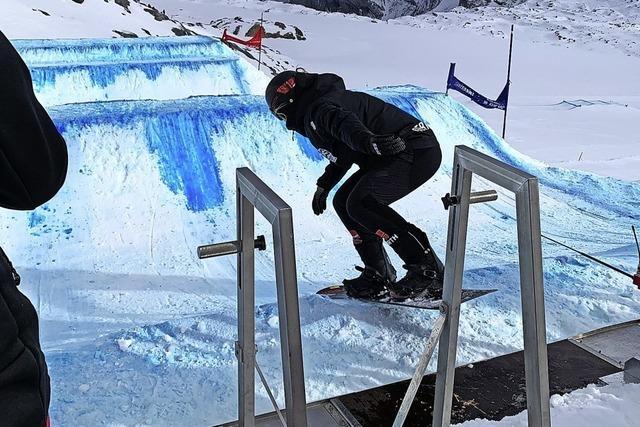 Zwei Schwarzwälder bei der Snowboardcross-WM