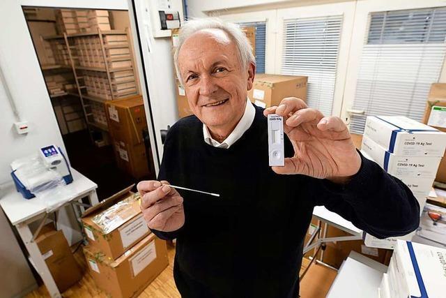 Freiburger Familienunternehmen liefert Millionen Corona-Schnelltests