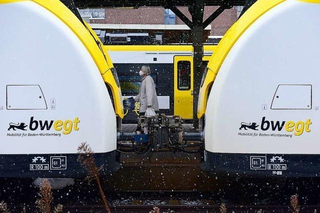 Land peilt für 2030 bei der Bahn einen Halbstundentakt an
