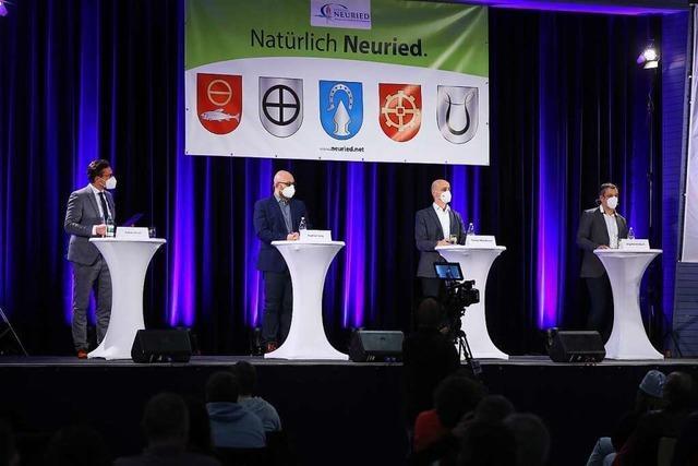 So lief die Video-Vorstellung der Kandidaten in Neuried ab