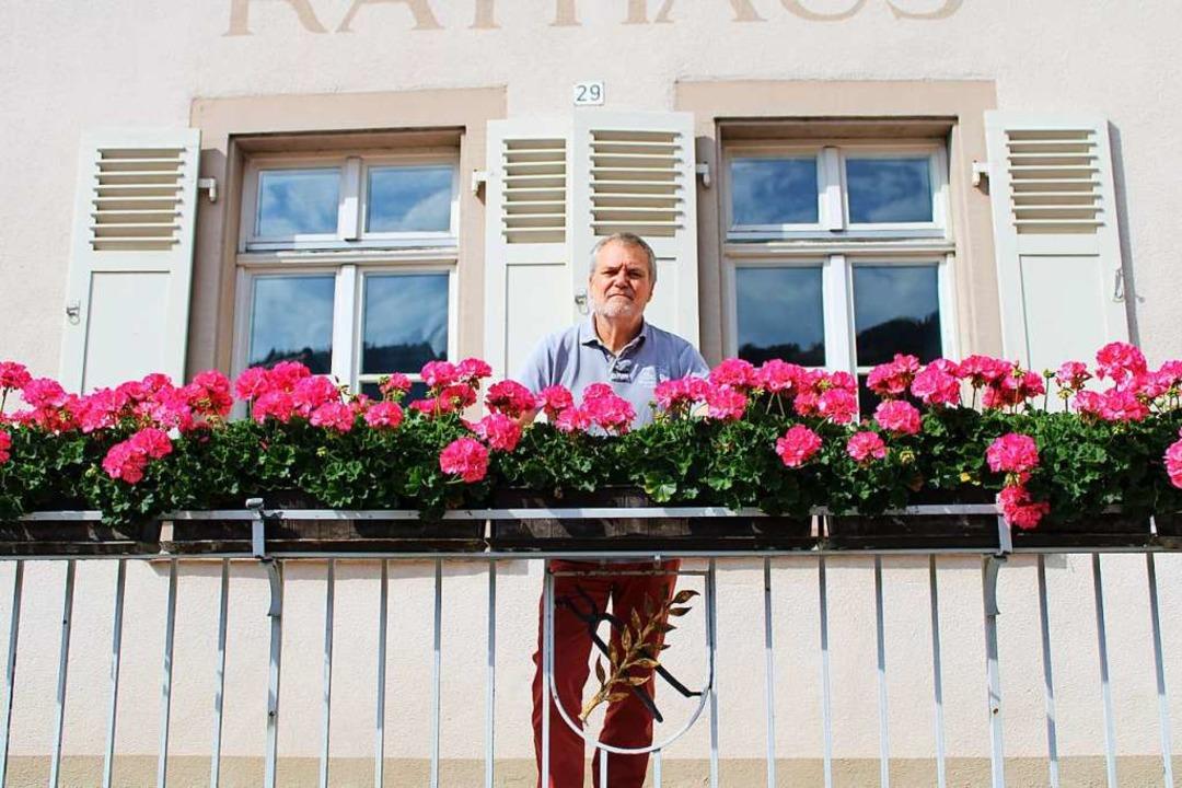 Harald Lais ist seit 1997 Bürgermeiste...kommenden Wahl tritt er nicht mehr an.  | Foto: Manuel Hunn