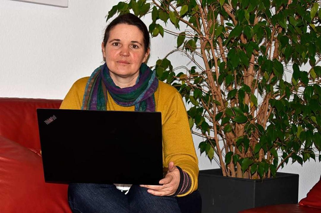 Agnes Deiß ist Koordinatorin im Familientreff Grenzach.  | Foto: Leony Stabla