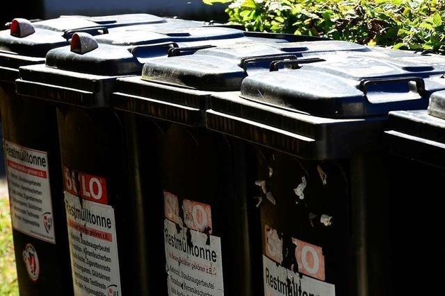 Die neuen Freiburger Müllmarken kommen in diesen Tagen per Post