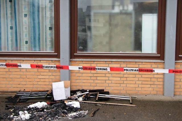 Das Feuer in der Hauinger Halle wurde vorsätzlich gelegt