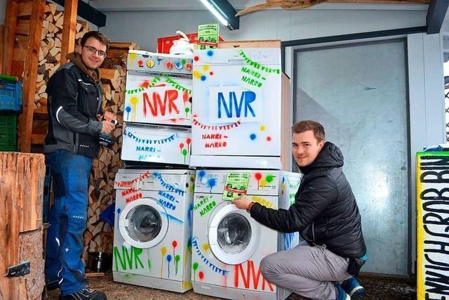 Das Narrenblatt aus der Waschmaschine