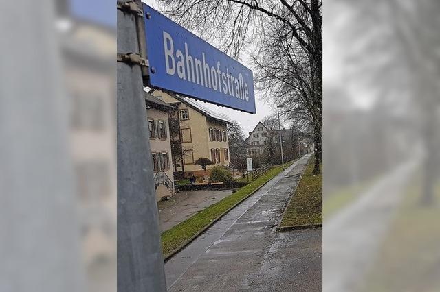 Für eine neue Bahnhofstraße
